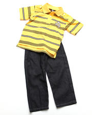 4-7x Little Boys - 2pc Abner Polo Set (4-7)