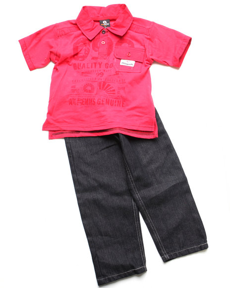 - 2pc Clyde Polo Set (INF)