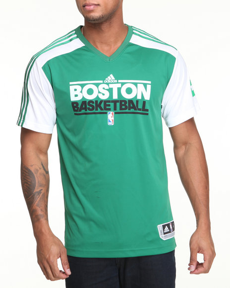 Adidas Men Green Rajon Rondo Adidas Shooter Jersey