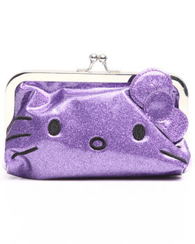 Hello Kitty - Metallic Color Blocked Clutch