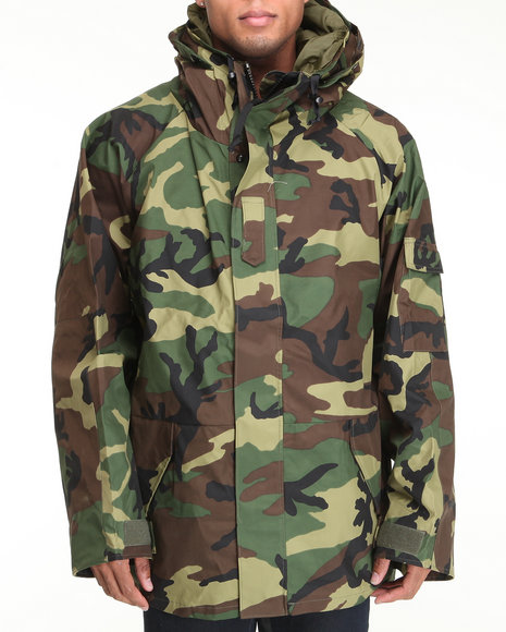 g.i. type wet weather parka