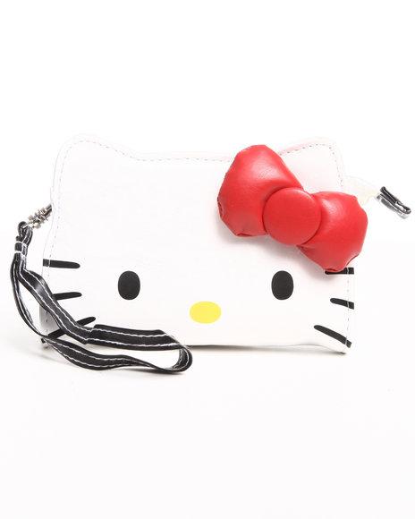 Hello Kitty Girls Hello Kitty Wristlet White