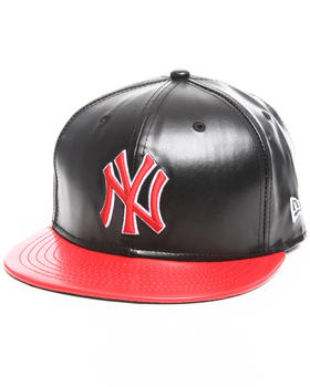 New Era - New York Yankees Leather Duo Chrome snapback hat
