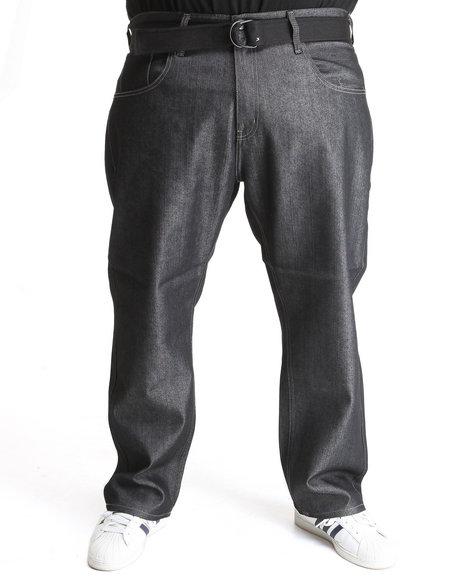 Enyce Men Black Enyce Core Belted Jean (B&T)