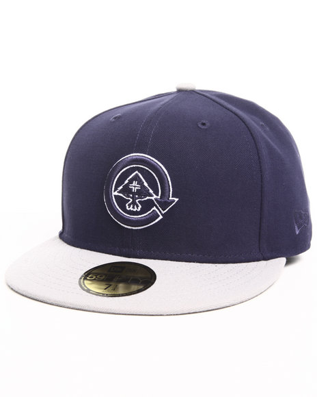 LRG Men Navy Core Collection Two Fitted Cap