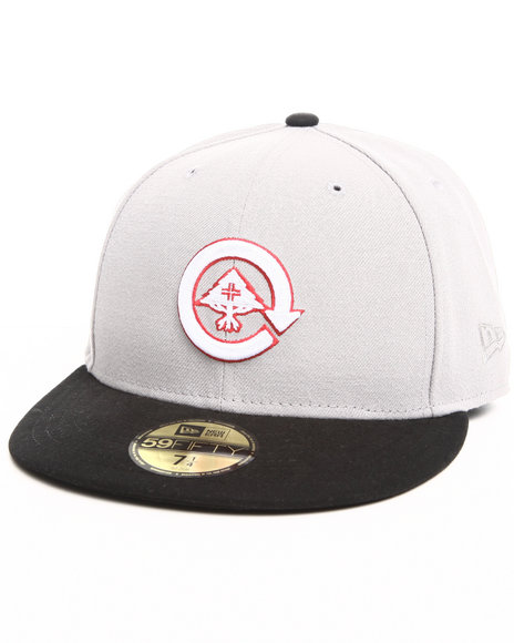 LRG Men Grey Core Collection Two Fitted Cap