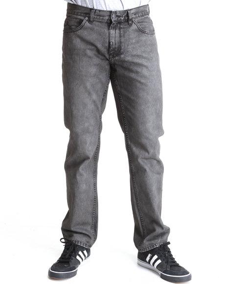 LRG Men Black O G Army True-Straight Jeans
