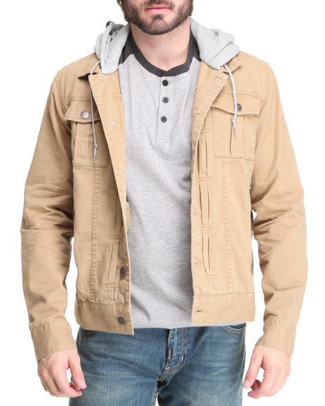 LRG Men Khaki O G Army Jacket