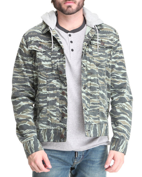 LRG - Men Camo O G Army Jacket