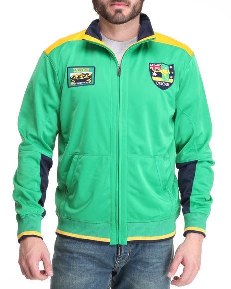 COOGI Men Green Expedition Track Jacket