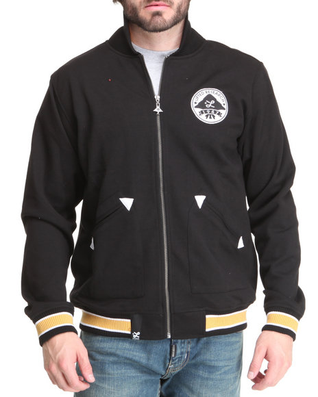 Lrg Men Black Sapwood Track Jacket