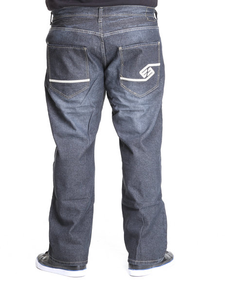Enyce Men Dark Wash High Road Regular Denim Jeans (B&T)