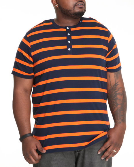 nautical by nature s/s henley t-shirt (b&t)
