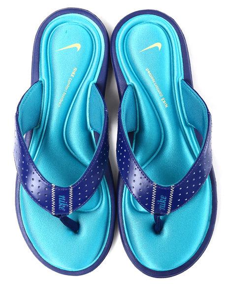 Nike Women Blue Wmns Nike Comfort Thong