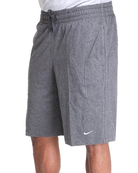 Nike Men Charcoal Classic Jersey Shorts
