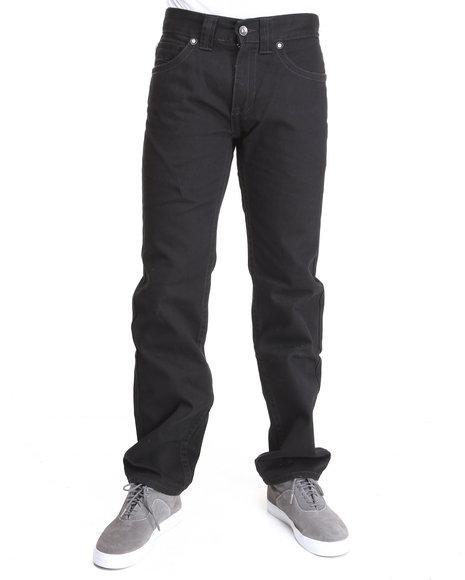 Pelle Pelle Men Black Denim Co. Jeans