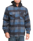 Buyers Picks - Flannel Zip Jacket w/ sherpa lining