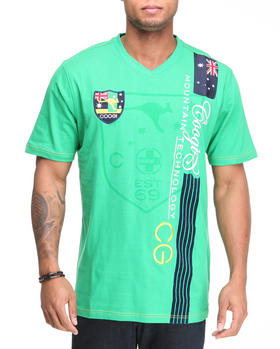 COOGI - Expedition Mountain  V-neck Tee