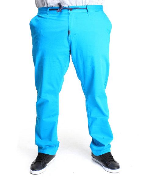 LRG Men Blue Research 3047 Chino True-Straight Pants (B&T)