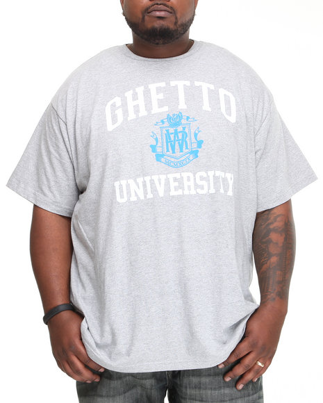 Rocawear Men Grey Ghetto University S/S Tee (B&T)
