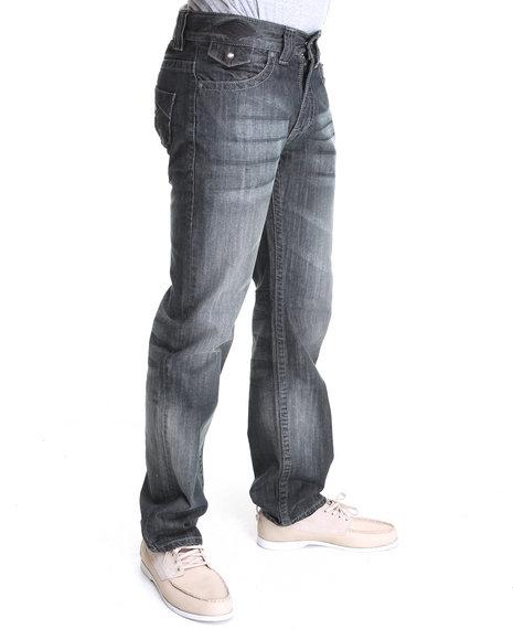 Pelle Pelle Men Dark Wash American Legend Denim Jeans