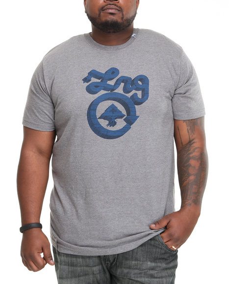 LRG Men Charcoal Core Collection Five S/S Tee (B&T)