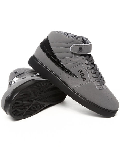 Mens Grey Synthetic Sneakers