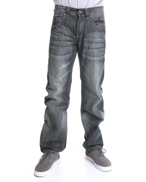 Pelle Pelle Men Horseshoe Denim Jeans