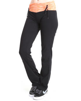 Basic Essentials - Space Dyed Dual String yoga pants