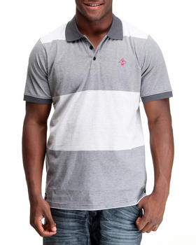 LRG - Core Collection Striped S/S Polo
