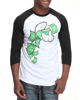 Graf-X Gallery - Make it Rain Raglan Tee