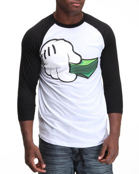 Buyers Picks - Money Stack Raglan Tee