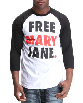 Graf-X Gallery - Free Mary Jane Raglan Tee