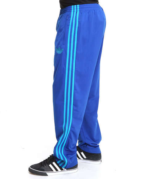 Adidas Men Blue Adi Firebird Track Pants