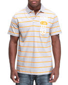 Men - Y/D Left Chest Numeral Polo