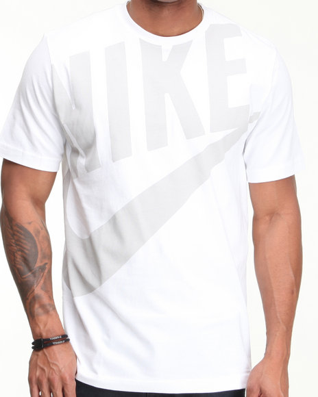 Nike Men White Hbr Exploded Futura Tee