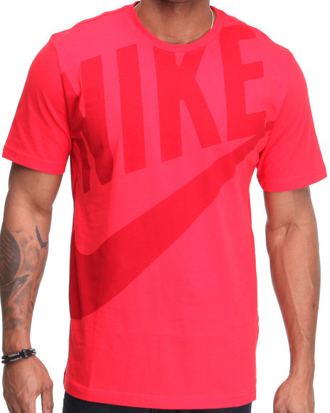 Nike Men Red Hbr Exploded Futura Tee