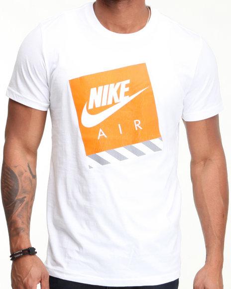 Nike Men White R U Air Max Tee