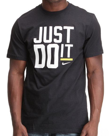 Nike Men Black Jdi Ss Tee