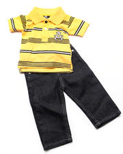 Boys - 2pc Abner Polo Set (NB)