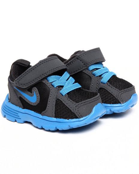 Nike Boys Black Nike Kids Fusion Run Sneakers (Toddlers)
