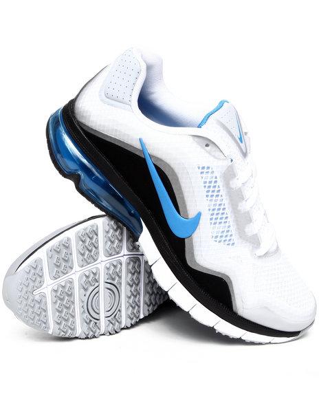 Nike Men White Nike Air Max Tr 180 Sneakers