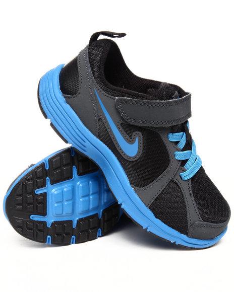 Nike Boys Black Nike Kids Fusion Run Sneakers (Preschool kids)