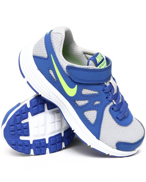 Nike Boys Blue,Silver Nike Revolution 2 Sneakers (Preschool kids)