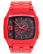 -LOOKBOOKS- - Trojan 46mm Square Face w/ Link Band Watch