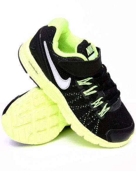 Nike Boys Black Nike Lunarglide Sneakers (Preschool kids)