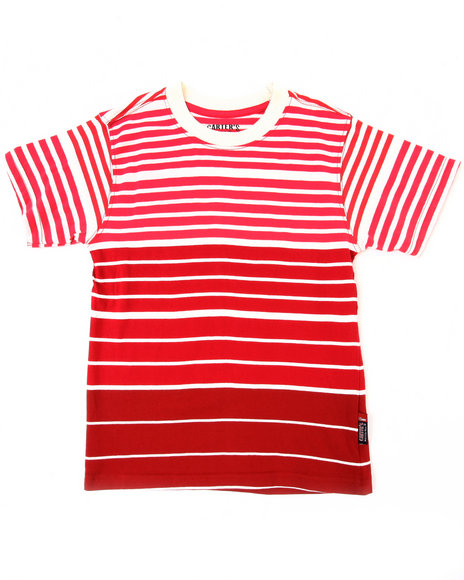 y/d stripe crew neck tee (4-7)