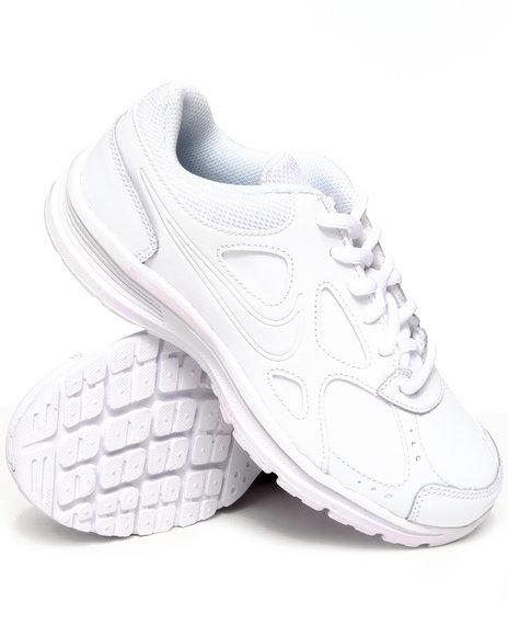 Nike Boys White Nike Advantage Runner 2 L Sneakers (Grade-school Kids)