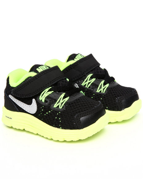 Nike Boys Black Nike Lunarglide Sneakers (Toddlers)
