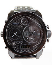 Diesel - Unisex Mr. Daddy Ceramic 57mm Face w / Bracelet Link Watch